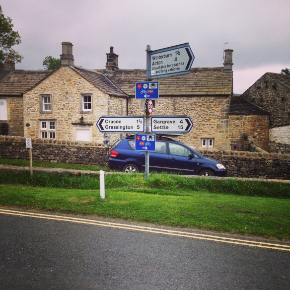 """A true Yorkshire route, taking in a little of """"The Way of the Roses"""""""