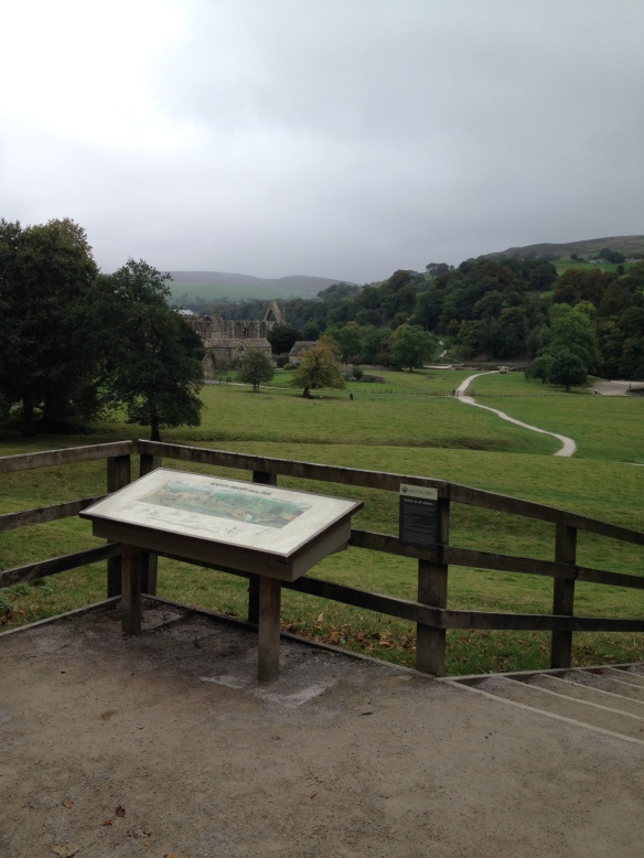 Stopping in at Bolton Abbey