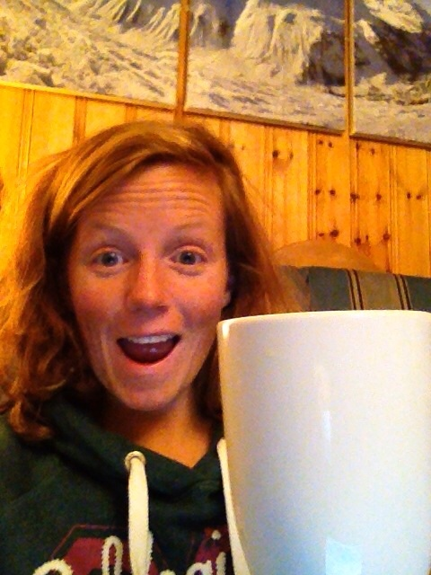 """One of Charlotte """"the new Rachel Kerr"""" Vantreen's daily updates on the brew count"""